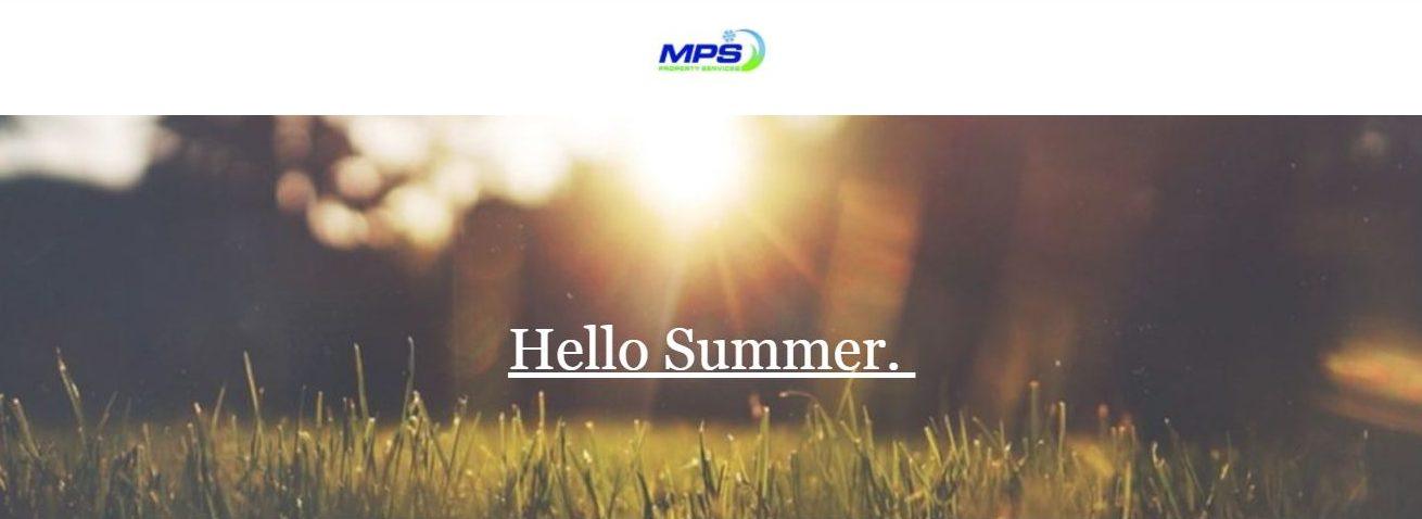summer, landscaping,