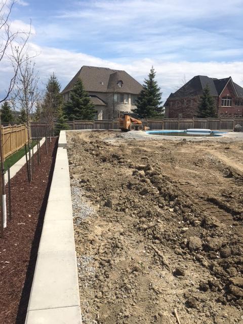 Residential Landscape Construction