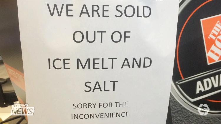Salt Shortage 2018-2019 | MPS Property Services