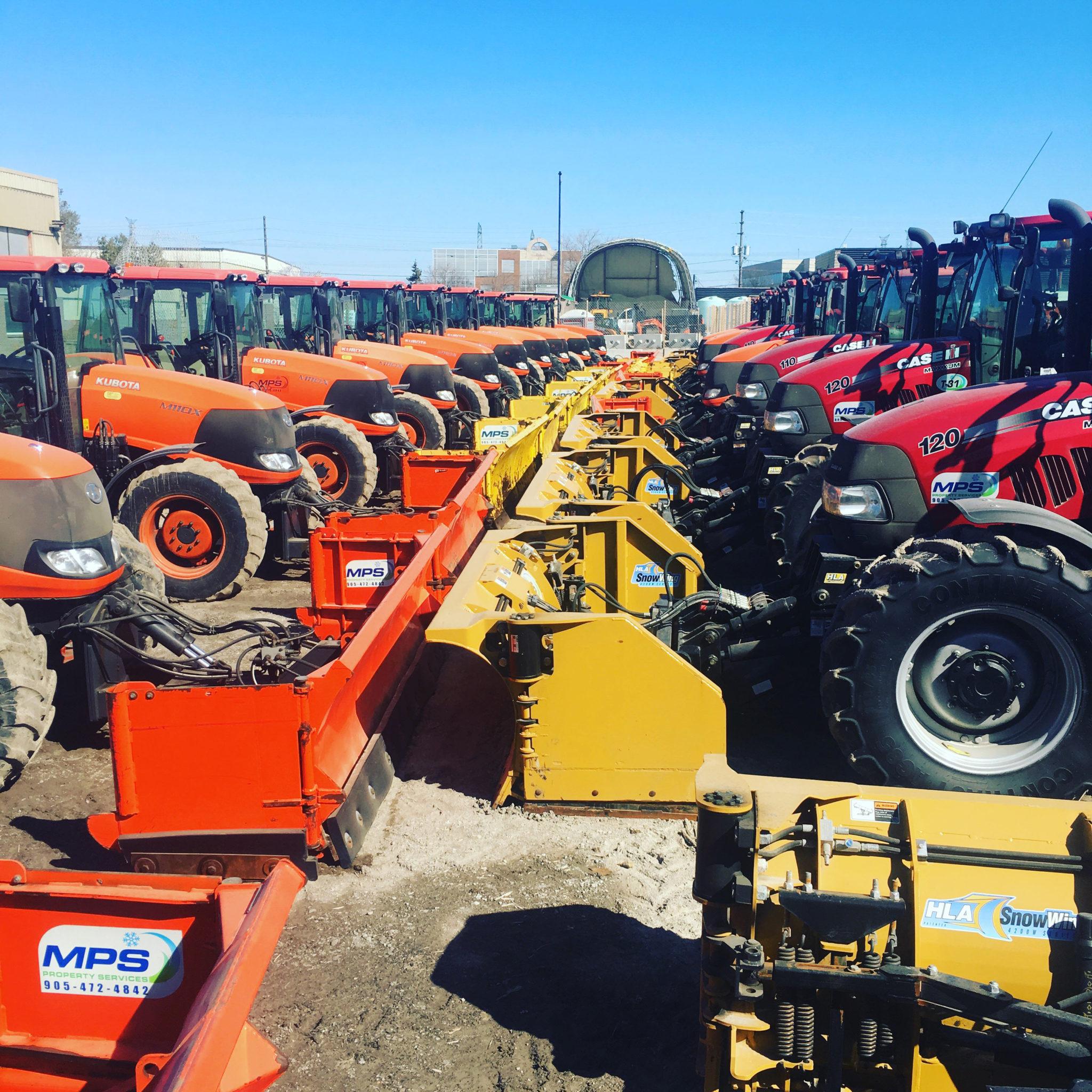 Winter Tractors