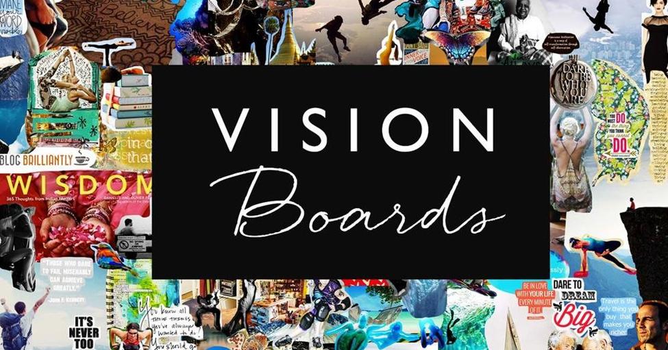 Landscape vision board